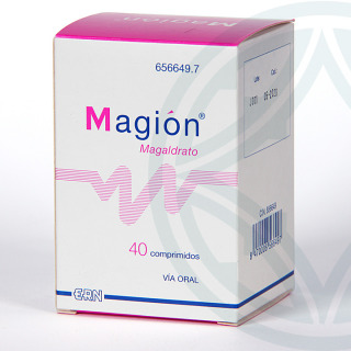 Magion 450 mg 40 comprimidos masticables