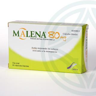 Malena 80 mg 30 cápsulas
