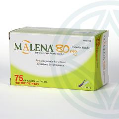 Malena 80 mg 75 cápsulas