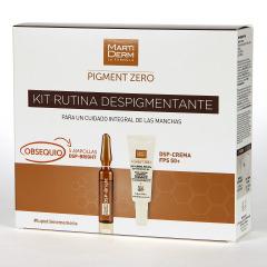 Martiderm Pigment Zero DSP-Crema FPS 50+ 40 ml + 5 Ampollas DSP-Bright Regalo