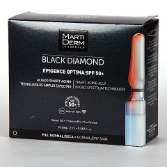 Martiderm Epigence Optima SPF 50+ Black Diamond 10 Ampollas