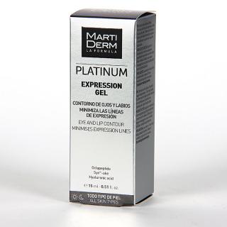 Martiderm Expression Contorno de Ojos Platinum 15 ml