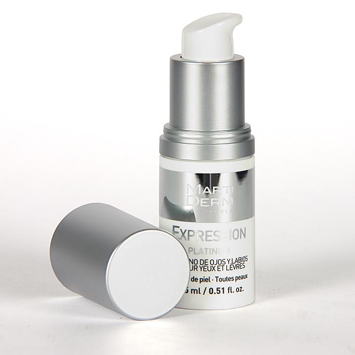 Martiderm Expression Contorno de Ojos Platinum15 ml