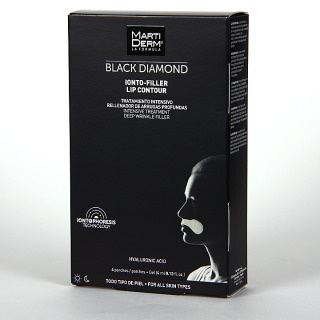 Martiderm Ionto Filler Lip Parches Labiales Antiedad Black Diamond
