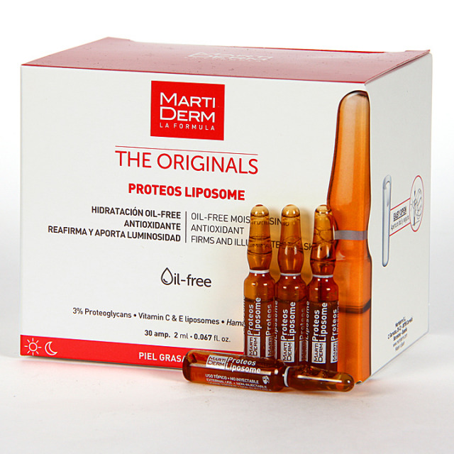 Martiderm Proteos Liposome The Originals 30 Ampollas