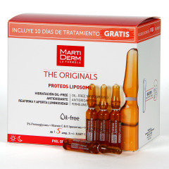Martiderm Proteos Liposome The Originals 30 + 5 Ampollas Regalo