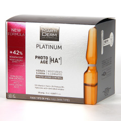 Martiderm Photo-Age HA+ Platinum 30 Ampollas