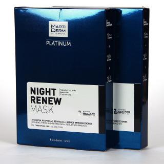 Martiderm Platinum Night Renew Mask 5 unidades Promoción Duplo 2x1