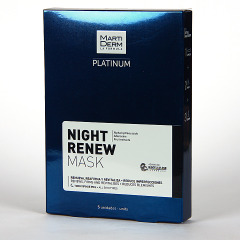 Martiderm Platinum Night Renew Mask 5 unidades