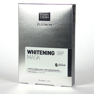 Martiderm Platinum Whitening Mask 5 unidades