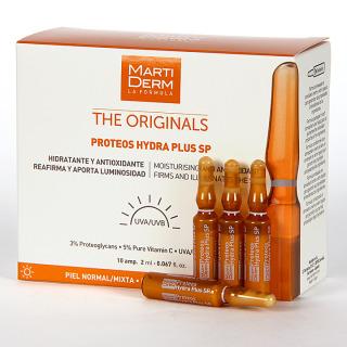 Martiderm Proteos Hydra Plus SPF 15 10 ampollas