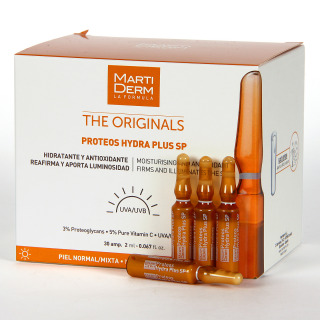 Martiderm Proteos Hydra Plus SPF 15 The Originals 30 Ampollas