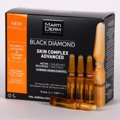 Martiderm Skin Complex Advanced Black Diamond 10 ampollas
