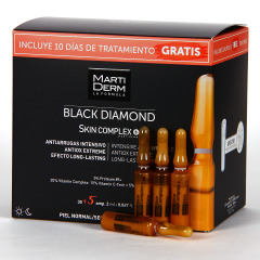 Martiderm Skin Complex Black Diamond 30 + 5 Ampollas Regalo