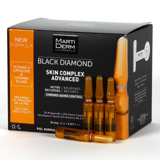 Martiderm Skin Complex Advanced Black Diamond 30 Ampollas
