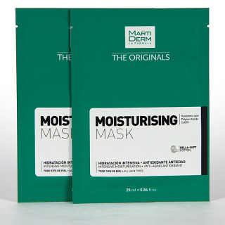 Martiderm The Originals Moisturising Hidratante Mask 10 unidades