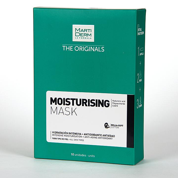 Martiderm The Originals Moisturising Hidratante Mask 10 unidades