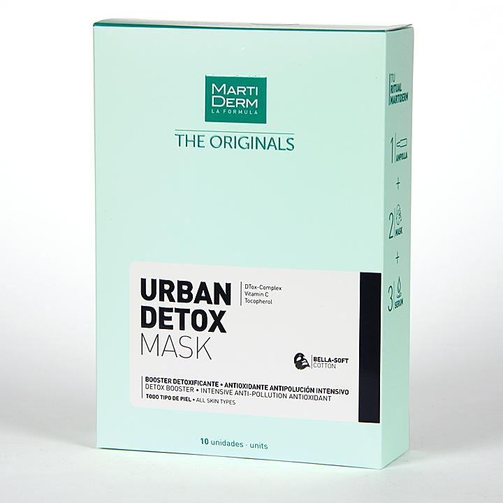 Martiderm The Originals Urban Detox Mask 10 unidades