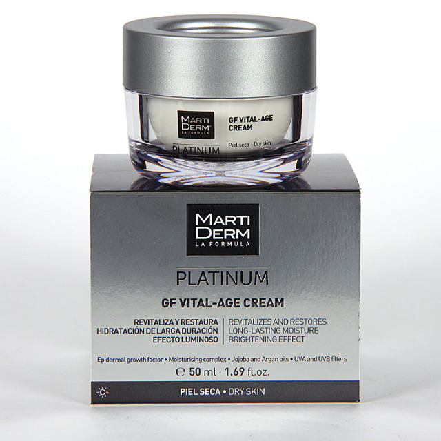 Martiderm GF Vital-Age S Platinum Crema piel seca y muy seca 50 ml