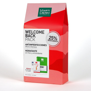 Martiderm Welcome Back pack Acniover Soothing mask 25%