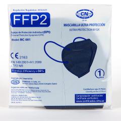 Mascarilla FFP2 1 Unidad Azul