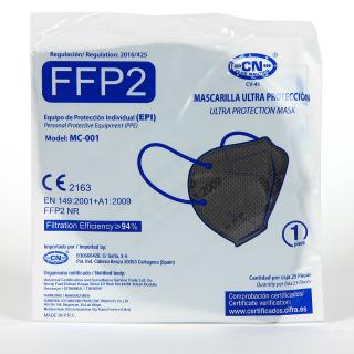 Mascarilla FFP2 1 Unidad Gris