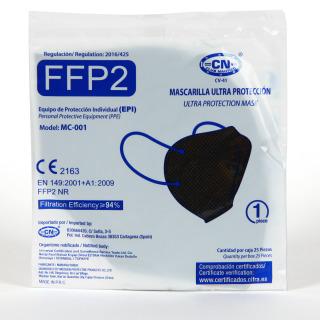 Mascarilla FFP2 1 Unidad Negra