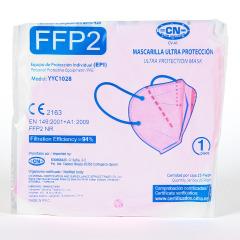 Mascarilla FFP2 1 Unidad Rosa
