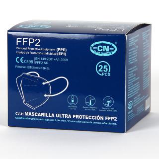 Mascarilla FFP2 Caja 25 Unidades Blanca