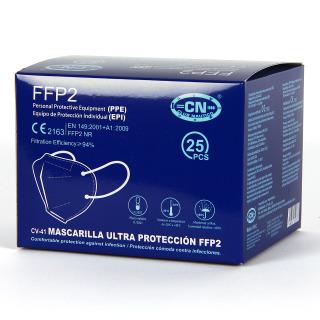 Mascarilla FFP2 Caja 25 Unidades Gris