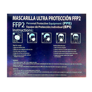 Mascarilla FFP2 Caja 25 Unidades Rosa