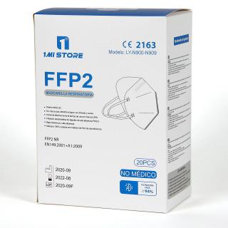 Mascarilla FFP2 caja 20 unidades