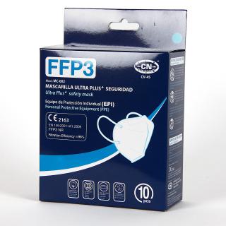 Mascarilla FFP3 Caja 10 Unidades Azul