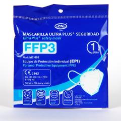 Mascarilla FFP3 1 unidad Blanca
