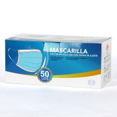 Mascarilla Quirúrgica Triple Capa 50 unidades
