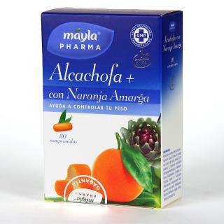 Máyla Pharma Alcachofa + Naranja Amarga 30 comprimidos