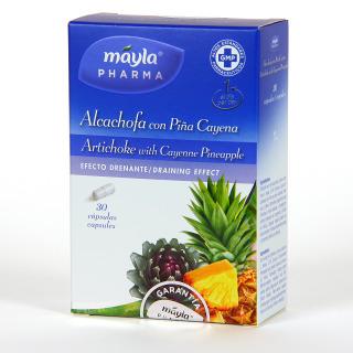 Mayla Pharma Alcachofa + Piña 30 cápsulas