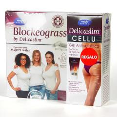 Máyla Pharma Delicaslim Blockeograss 60 cápsulas + Gel Anticelulítico regalo