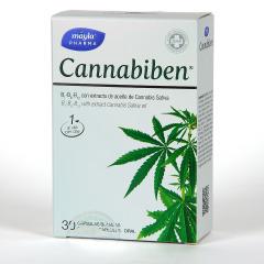 Máyla Pharma Cannabiben 30 Cápsulas