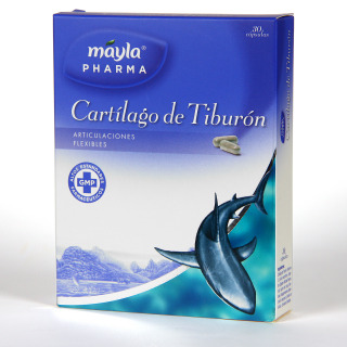 Máyla Pharma Cartílago de tiburón 30 cápsulas