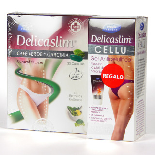 Máyla Pharma Delicaslim Café Verde y Garcinia 30 cápsulas