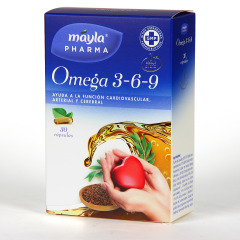 Máyla Pharma Omega 3 - 6 - 9 30 cápsulas