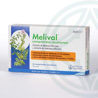 Melival 30 comprimidos