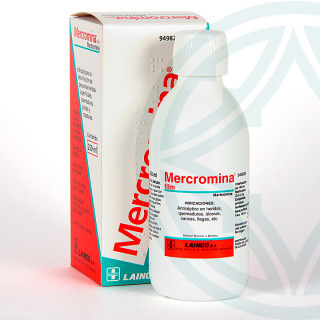 Mercromina Film Lainco solución tópica 250 ml