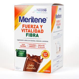 Meritene Batido Fibra Chocolate 14 sobres