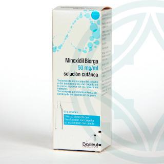 Minoxidil Biorga 50 mg/ml 60 ml