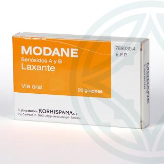 Modane 12 mg 20 grageas