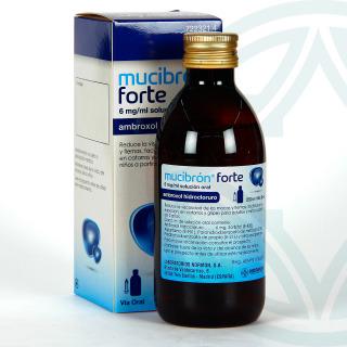 Mucibron Forte Solución Oral 250 ml