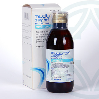 Mucibron solución oral 200 ml