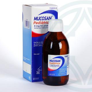 Mucosan Pediátrico 3mg/ml jarabe 200 ml
